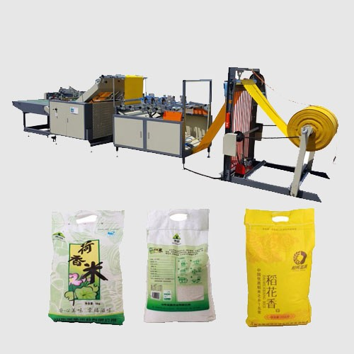 Automatic PP Woven Bag Cutting Stitching Machine