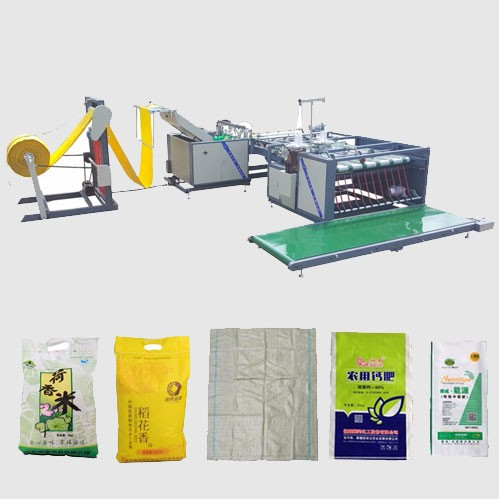 PP Woven Bag Cutting and Easy Open Stitching Machine