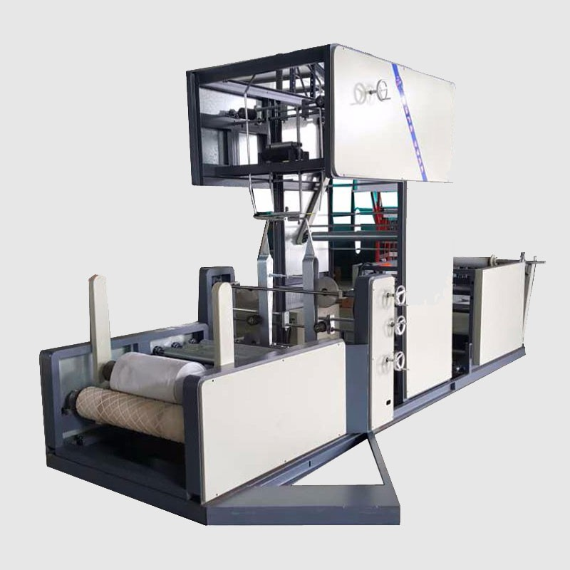 PP Woven Roll to Roll Gusseting Machine