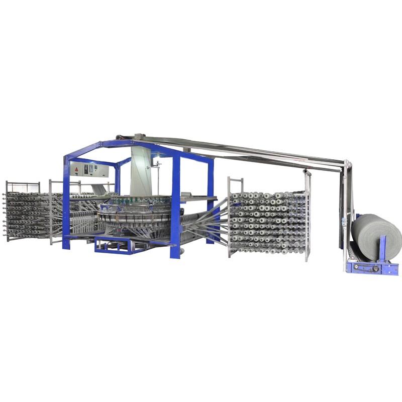 100% Polypropylene Circular Loom Machine 4 Shuttles