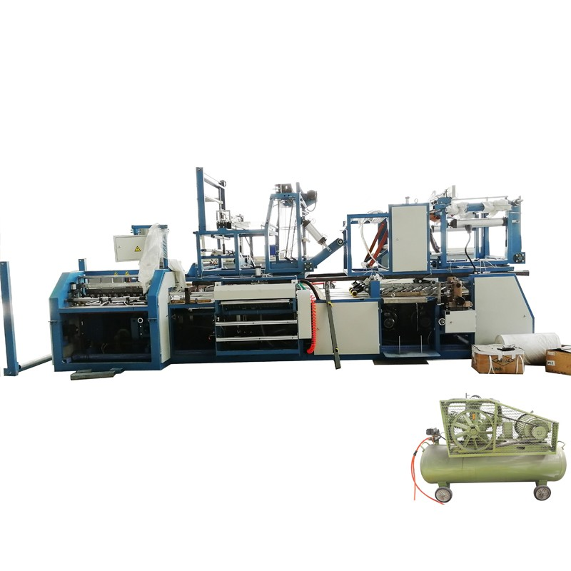 PP Sack Liner Insert Cutting and Stitching Machine