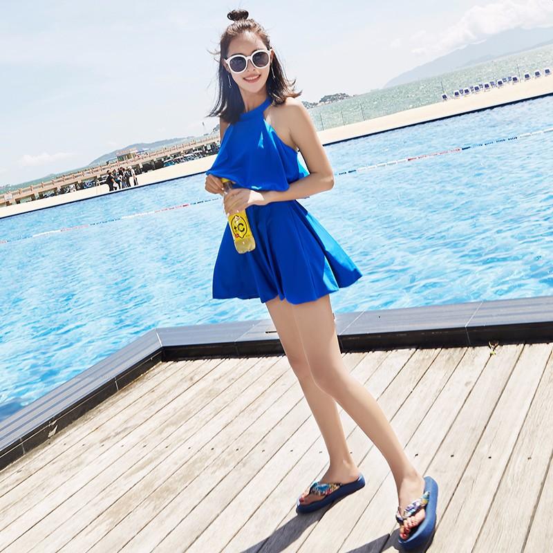 Blue Dress Short
