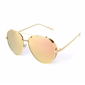 Metallic border sunglasses Manufacturers, Metallic border sunglasses Factory, Supply Metallic border sunglasses
