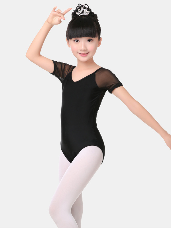 girl Gymnastics Leotard