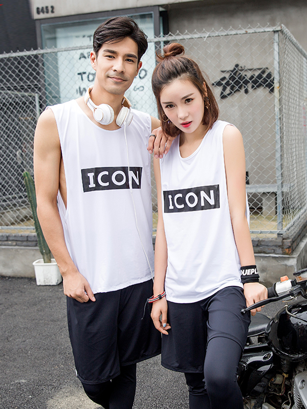 Couple sportswear