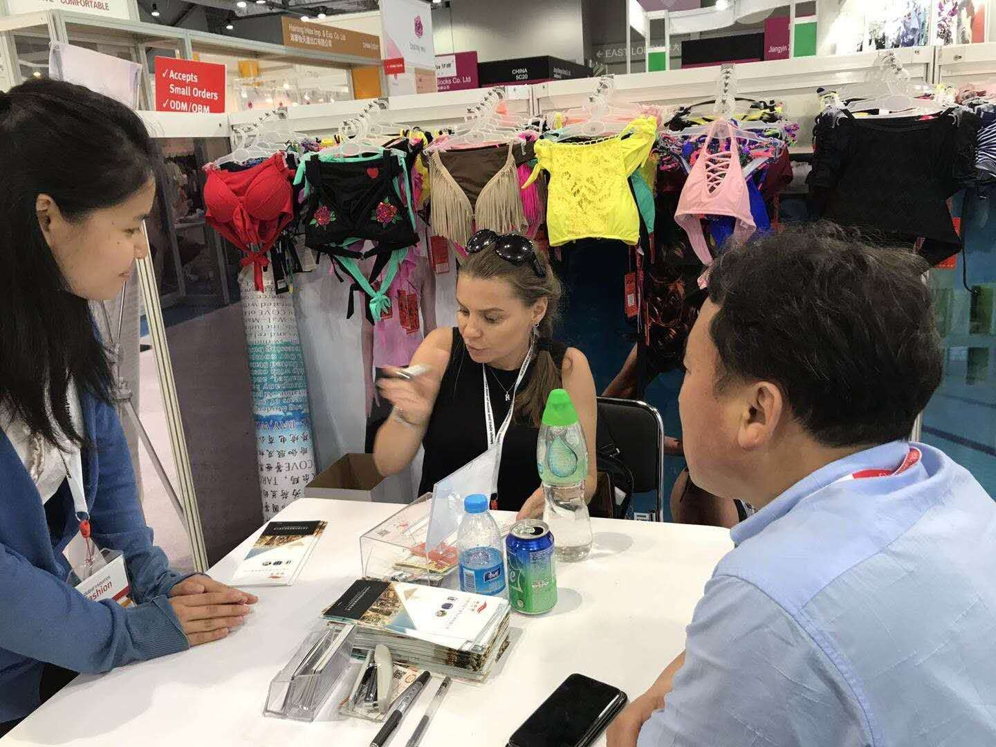 Our company participates in Hong Kong Global Sources Exhibition