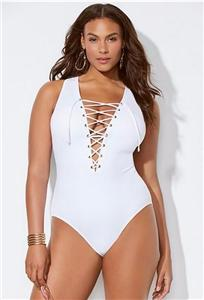 SWIMSUITS FOR ALL CEO WHITE LACE UP ONE PIECE SWIMSUIT Manufacturers, SWIMSUITS FOR ALL CEO WHITE LACE UP ONE PIECE SWIMSUIT Factory, Supply SWIMSUITS FOR ALL CEO WHITE LACE UP ONE PIECE SWIMSUIT