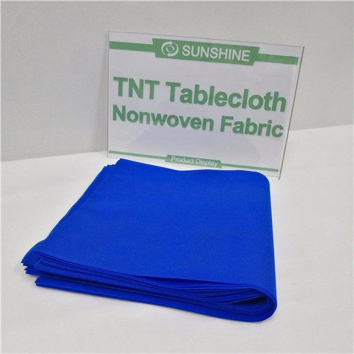 One Time Use Tnt Nonwoven Tablecloth