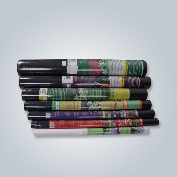 Black tnt nonwoven fabric, PP spunbond garden cloth, nonwoven fabric for weed control