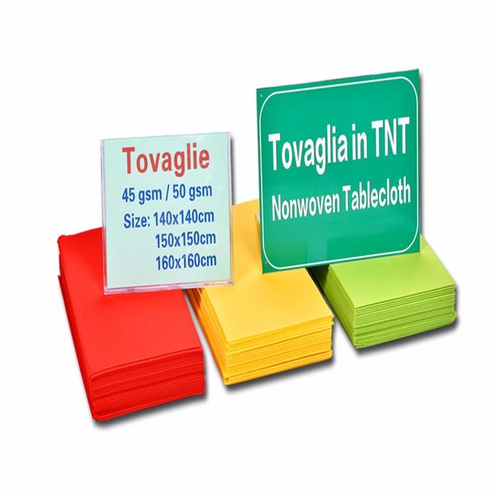 Recyclable tnt pp nonwoven fabric Tovaglia