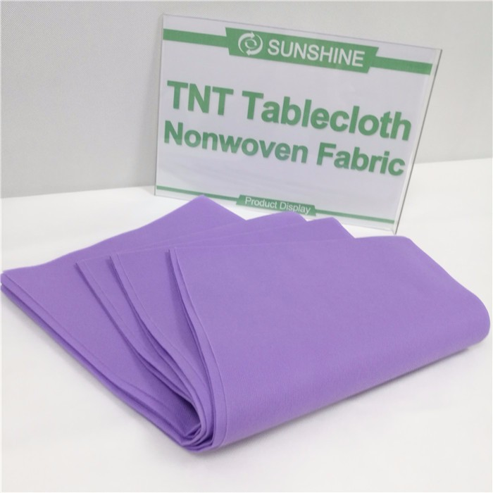 oilproof Non woven PP spunbond table cloth