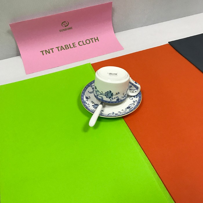 Recommend polypropylene nonwoven fabric table cloth