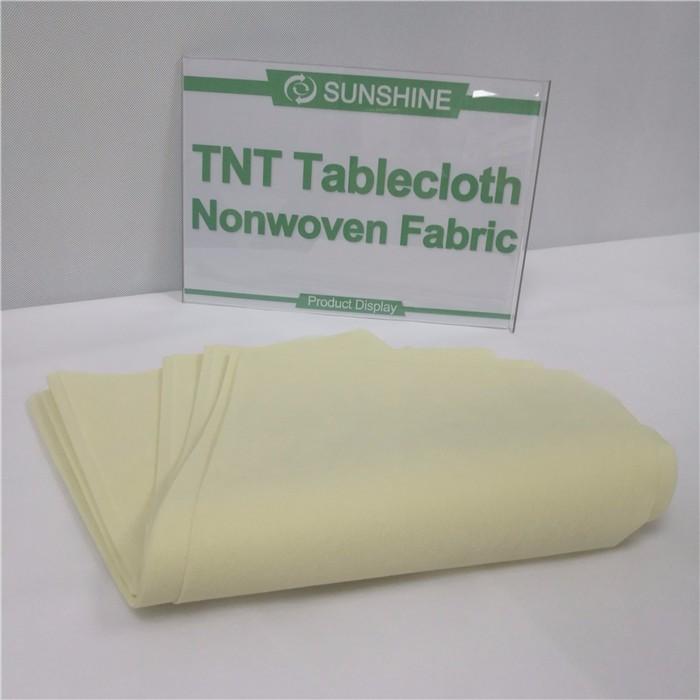Best quality tablecloth Polypropylene spunbond Non-woven TNT