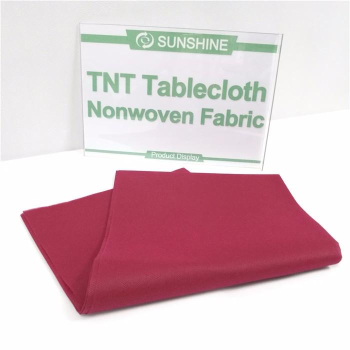Best quality spunbond TNT pre-cut tablecloth