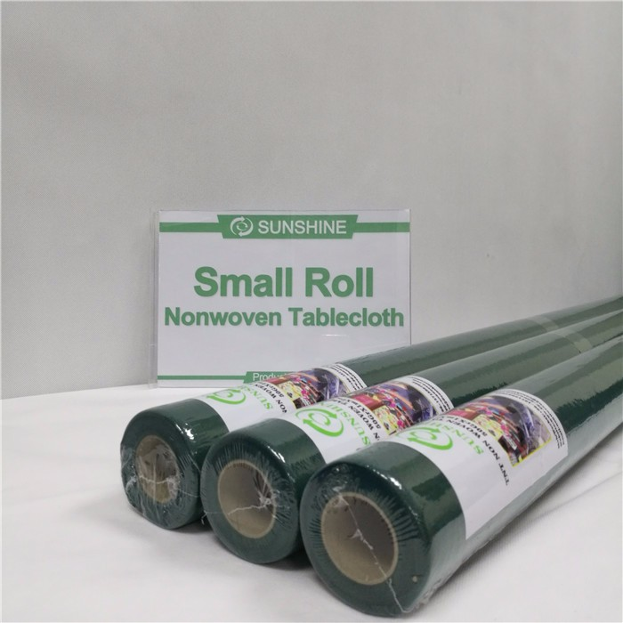 Hot sale pp nonwoven tablecloth small roll