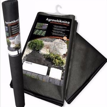 black nonwoven fabric of weed control mat