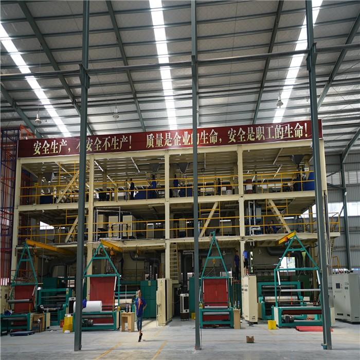 Sunshine-1600mm 2400mm 3200mm PP spunbond Nonwoven fabric machine