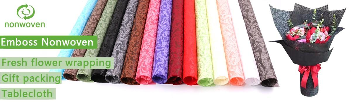 Emboss nonwoven fabric