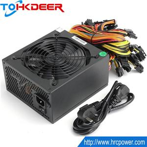 1800W ATX Power Supply for 6-8 cards GPUs miner