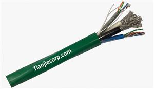 TIAN-JIE Composite Cable 2 x CAT5e + 2 x RG6 Quad PVC Jacket Manufacturers, TIAN-JIE Composite Cable 2 x CAT5e + 2 x RG6 Quad PVC Jacket Factory, Supply TIAN-JIE Composite Cable 2 x CAT5e + 2 x RG6 Quad PVC Jacket