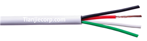 TIAN-JIE Alarm Cable 24AWG 0.22mm2/4C FR-PVC Jacket Manufacturers, TIAN-JIE Alarm Cable 24AWG 0.22mm2/4C FR-PVC Jacket Factory, Supply TIAN-JIE Alarm Cable 24AWG 0.22mm2/4C FR-PVC Jacket