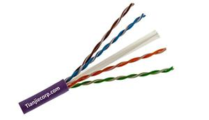 TIAN-JIE Lan Cable Cat6 Plenum UL Listed CMP