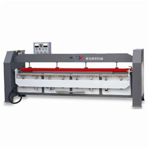 Semi-automatic post-forming machine
