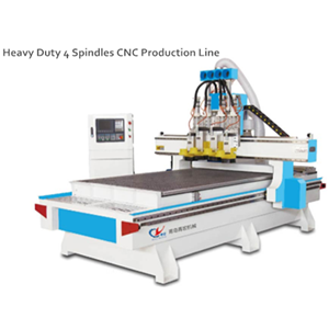 Four process cutting machine