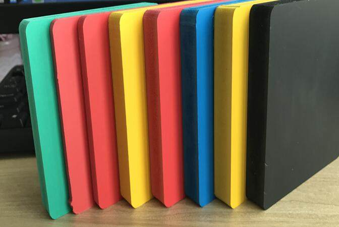 The difference between colored PVC board and ordinary PVC foam board