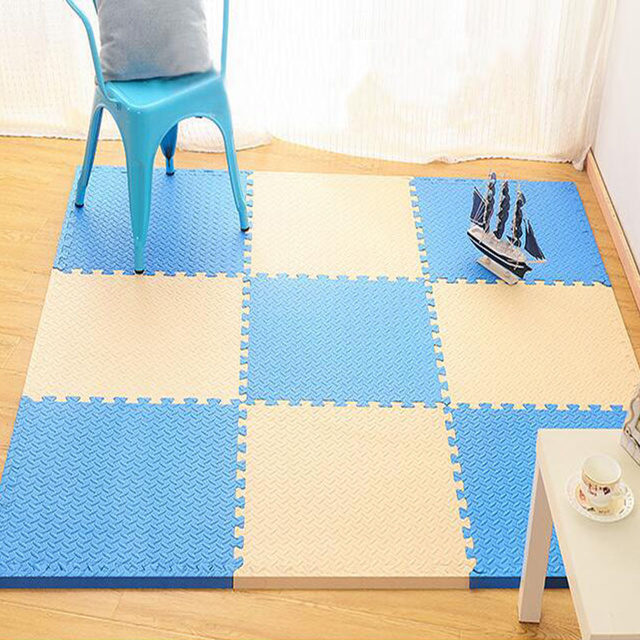 Puzzle mats are a great way for your baby to spend a happy summer