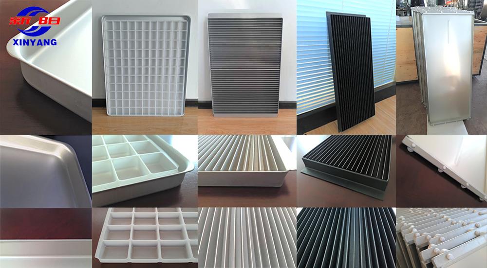customized aluminum tray