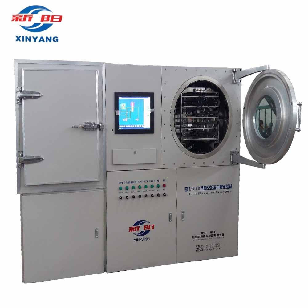 Pilot Freeze Dryer with 10kg Capacity