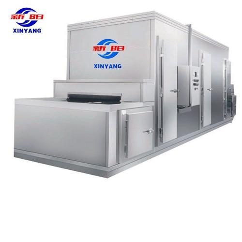 Mesh Belt Tunnel Freezer