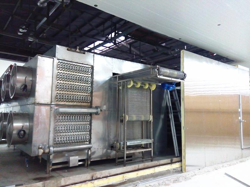 spiral freezer project
