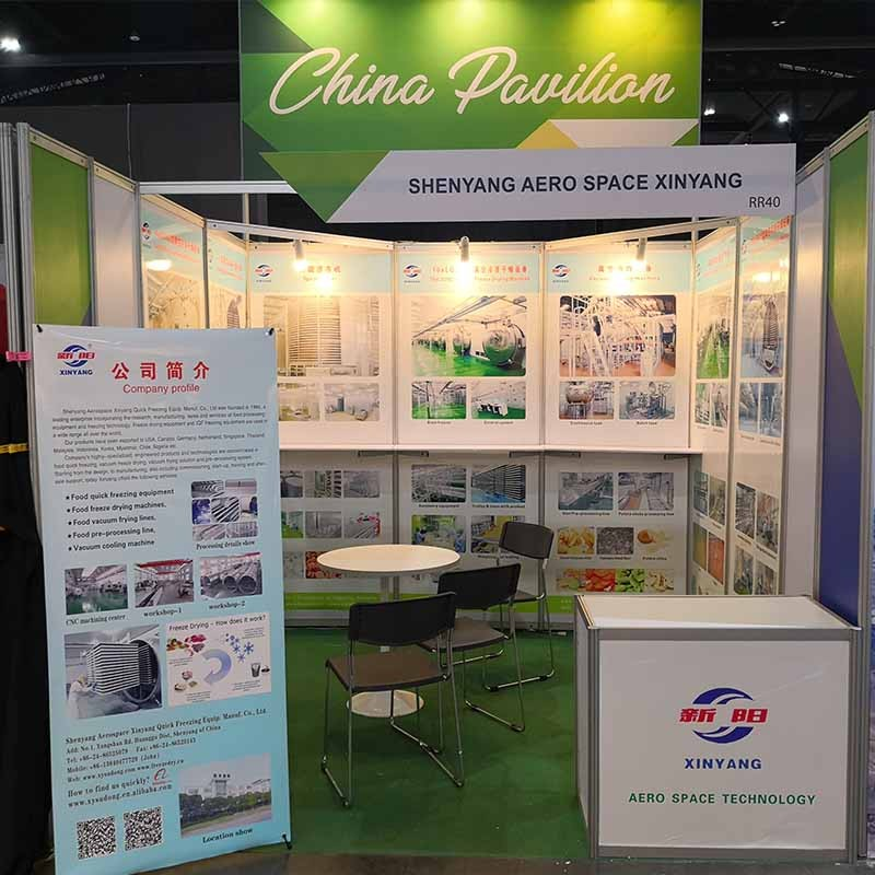 We attended Thai-Fex world Food exhibition in Thailand