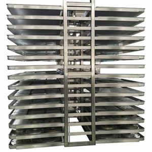 Customized stainless Steel Trolley for vacuum freeze dryers