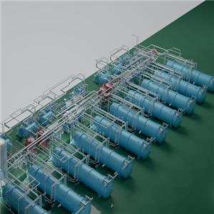 Xinyang large vacuum freeze dryers of shipment to Henan customer's factory