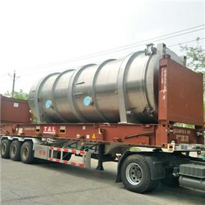 Fruit freeze dryer LG125 with refrigeration system to Thailand
