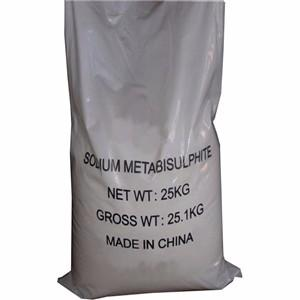 Made in china 97% sodium metabisulphite dyestuff factory price