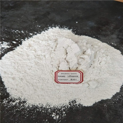 Lithopone powder used for the coloring of rubber,papermaking,linoleum,oilcloth