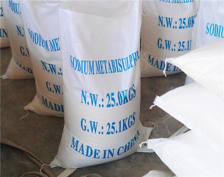 sodium metabisulfite solution