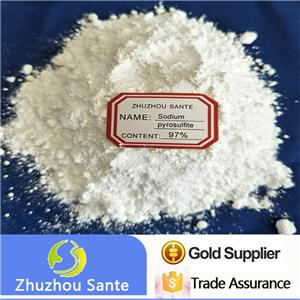96% 97% food grade sodium metabisulphite HS28321000 from China with factory price