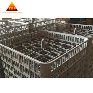 Investment Casting Heat Resistant Steel Heat Treatment Fixture For Furnace