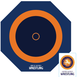 UWW approved Wrestling Mats