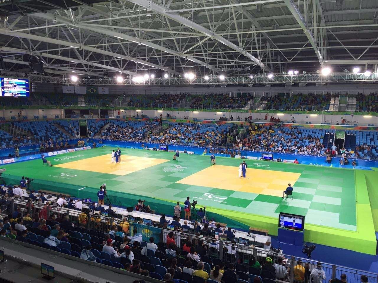 Taishan Sports as the official supplier of Judo equipment of the Rio 2016 Paralympic Games