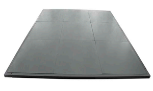 Weightlifting Platform for Training( black rubber )