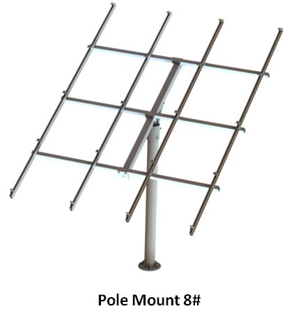 Pole Solar Ground Mount