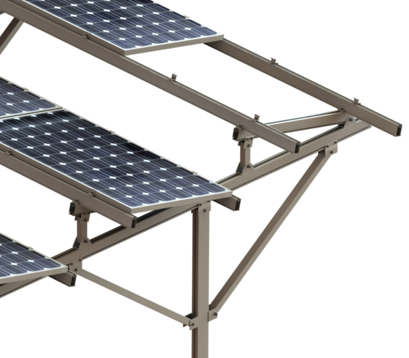 Solar Panel Ground Structure