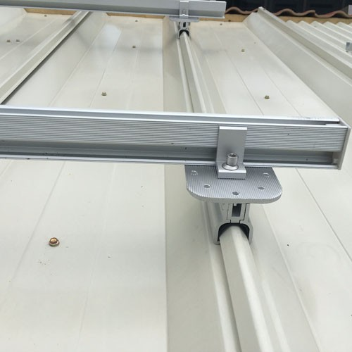 Standing Seam Solar Roof Racking