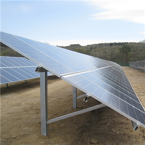 Pile Solar Ground Racking Structure System